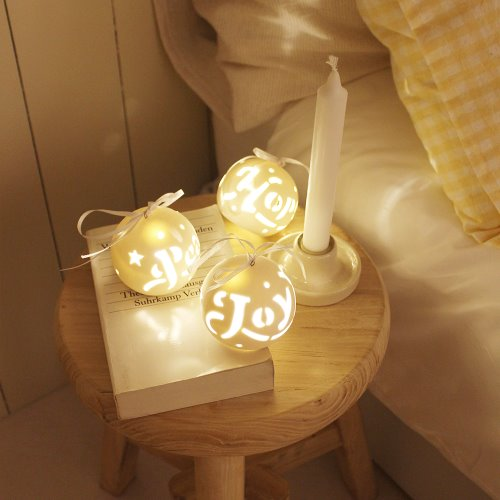 Christmas LED balls 3 set